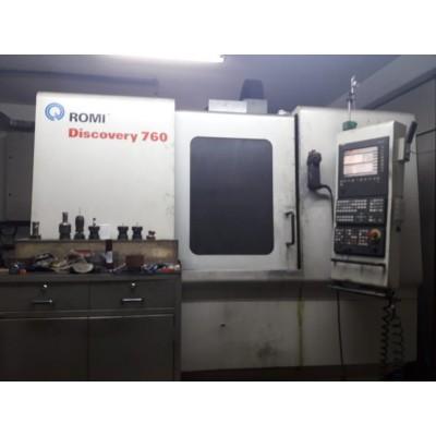 (4507/7) Fresadora ROMI  CNC Completa Mod Discovery 760