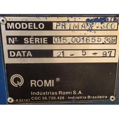 (5117/64) Injetora Romi Mod Primax 300