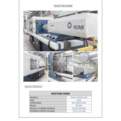 (4654/7) Injetora Romi Mod Primax 450R