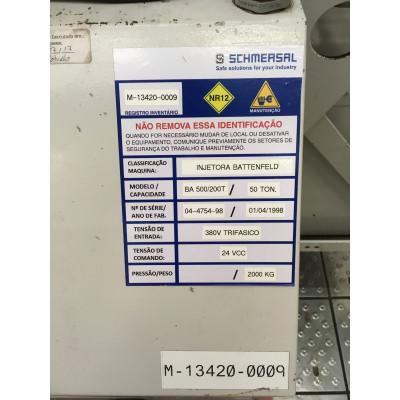 (4735/70) Injetora Battenfeld Mod BA500_200
