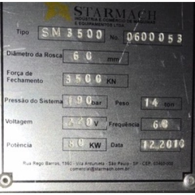 (4554/7) Injetora Starmach Mod SM 3500