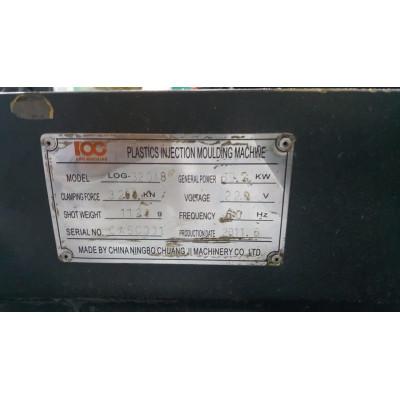 (4570/132) Injetora Log Machine Mod 320 Série A8