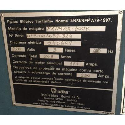(4537/7) Injetora Romi  Primax Mod 300R